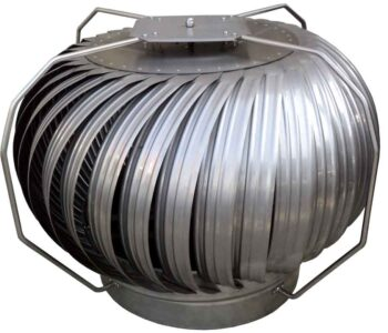 funcionamiento de extractores eólicos PAGGI .